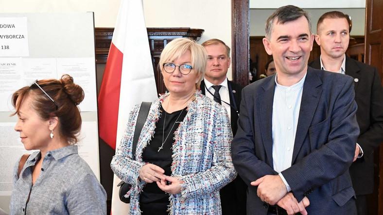 Julia Przyłębska i Andrzej Przyłębski
