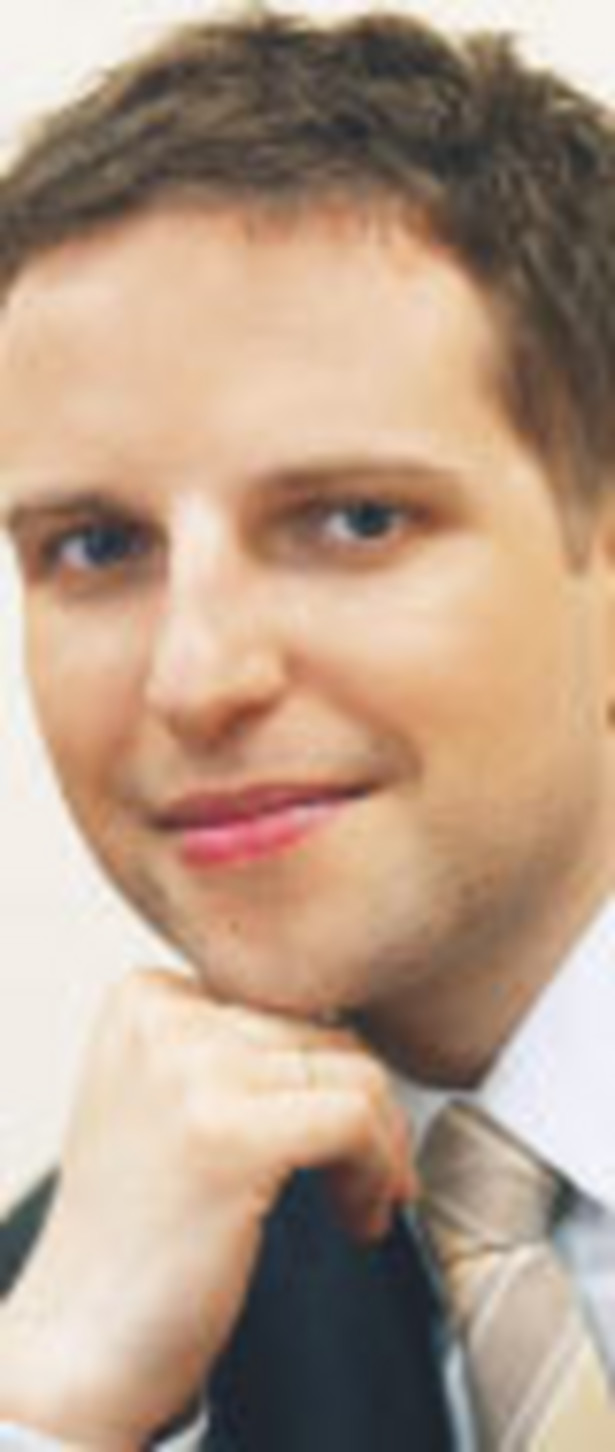 Michał Dżoga, menedżer w Deloitte