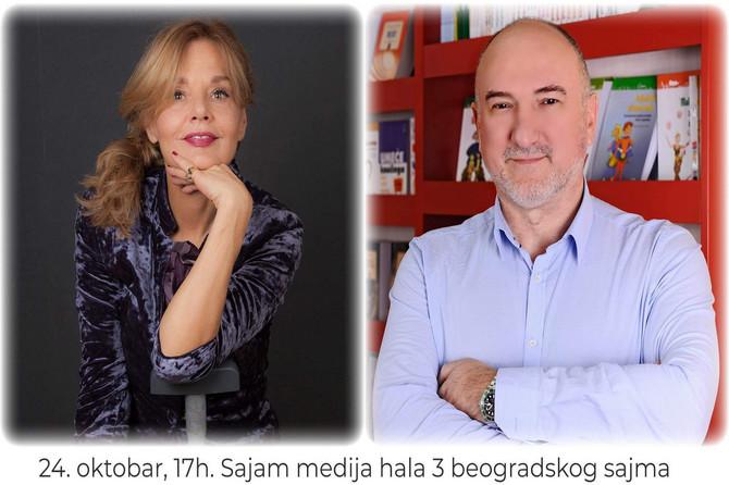 Da li smo normalni? Mrijana Bobić i Zoran Milivojević na panelu na Sajmu medija