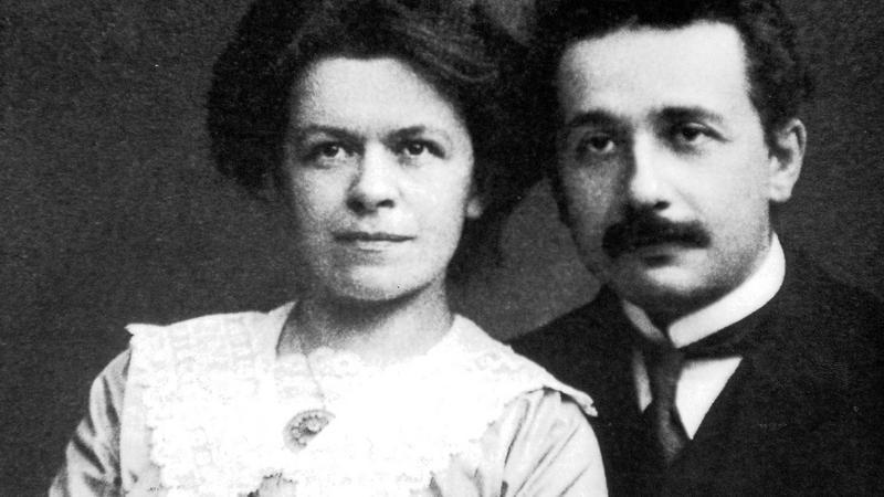 Mileva Marić i Albert Einstein