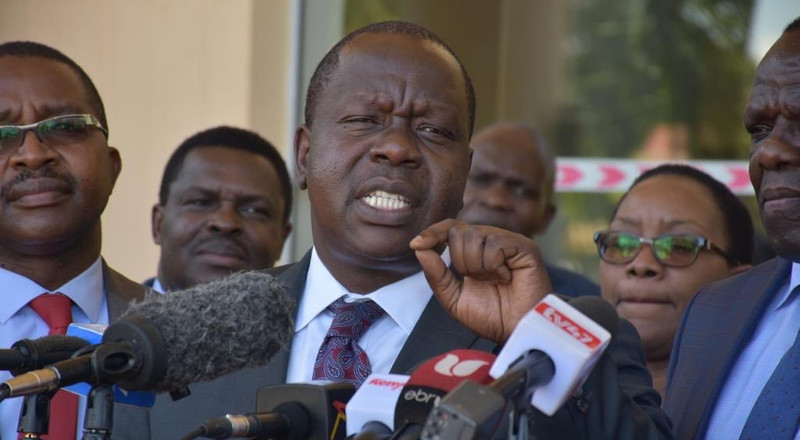 14 Guns retrieved from Nairobi County Assembly; Matiang'i declares it a War Zone