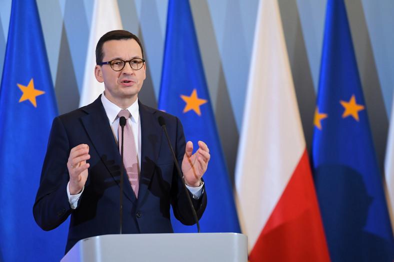 Szef rządu Mateusz Morawiecki ogłosił wprowadzenie stanu zagrożenia epidemicznego