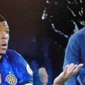 """Fudbaler koji je govorio Tadiću da je pi**ica, sada je U CENTRU NOVOG SKANDALA! Kamera """"UHVATILA"""" navijača dok je vređao igrača Intera /VIDEO/"""