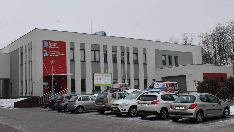 Jedyny czynny SOR w Kielcach – przy Wojewódzkim Szpitalu Zespolonym