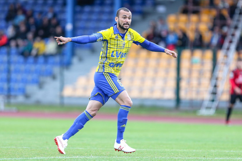 Marcus Vinicius da Silva (35 l.) jest piłkarzem Arki od 2012 roku.