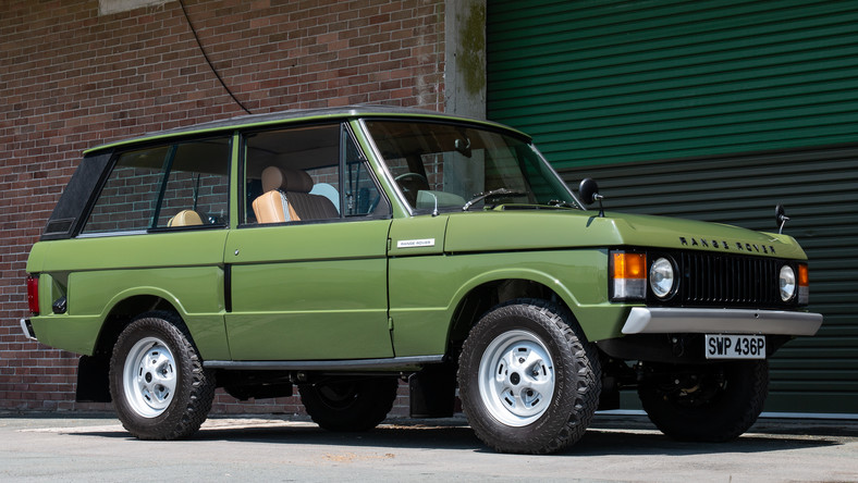 Silverstone Auctions Royal Range Rover