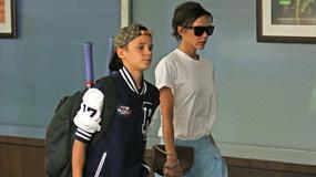 Victoria Beckham z synem. Uwagę przykuwa stylizacja Romeo