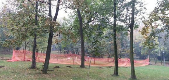 Novo igralište za pse u parku na Banovom brdu