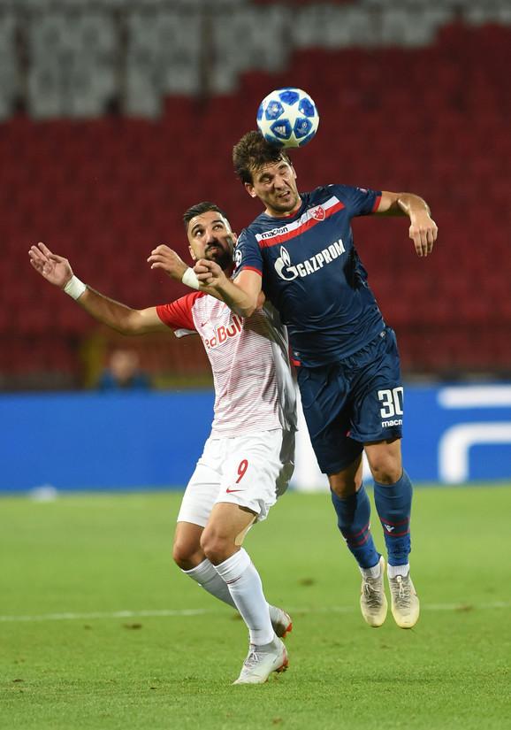 Filip Stojković je odlično odradio posao u odbrani, a bio je i opasnost po protivničke defanzivce