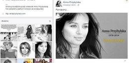 Kto zarabia na śmierci Ani Przybylskiej?