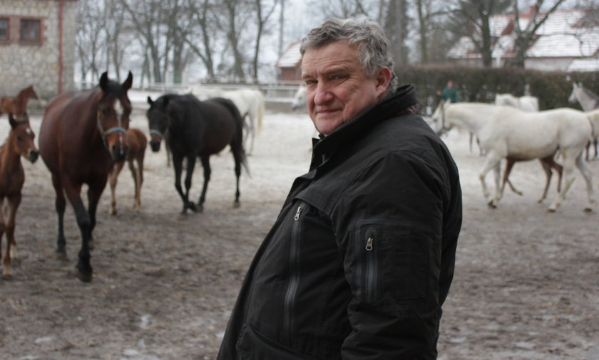 Jerzy Białobok, odwołany prezes Stadniny w Michałowie