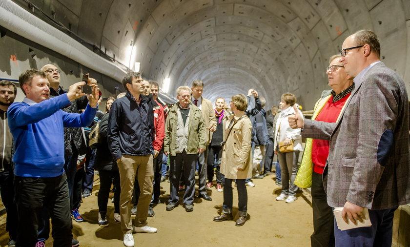 Dzien Otwarty Budowy Tunelu Pod Martwą Wisłą