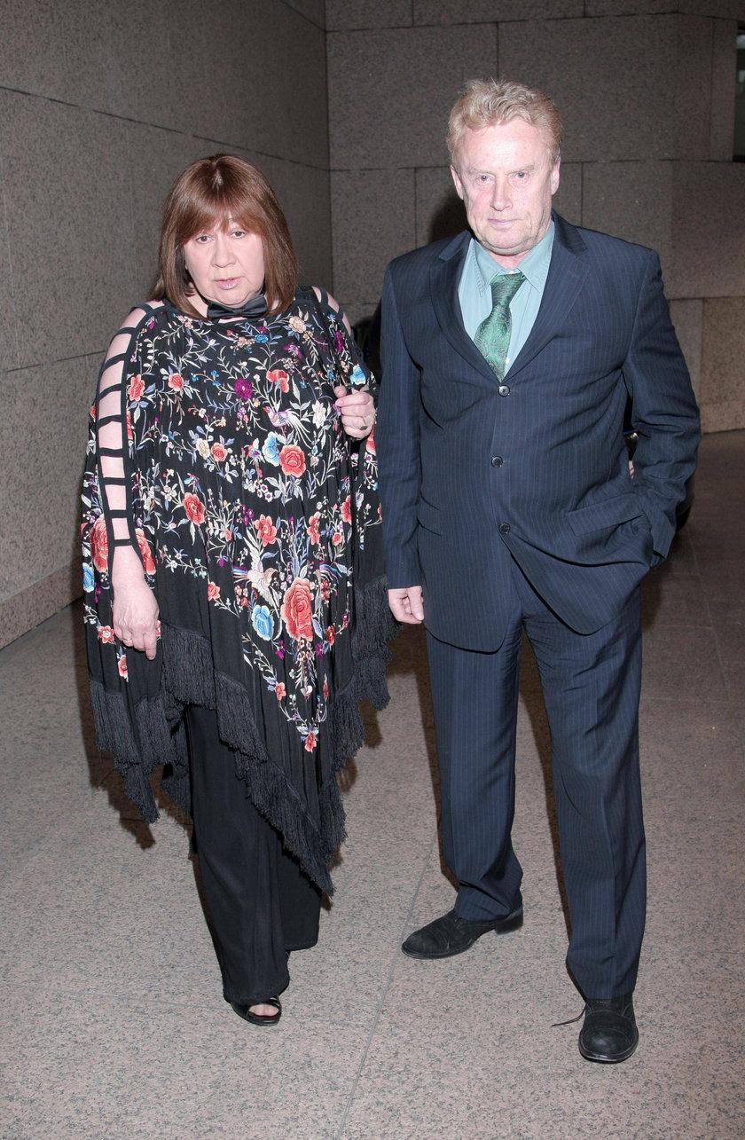Daniel Olbrychski z żoną Krystyną
