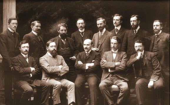 Profesori prve Katedre za fiziologiju na Balkanu