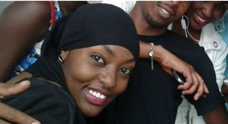 Violet kemunto, the woman believed to be the wife of Al Shabaab attacker Ali Gichunge