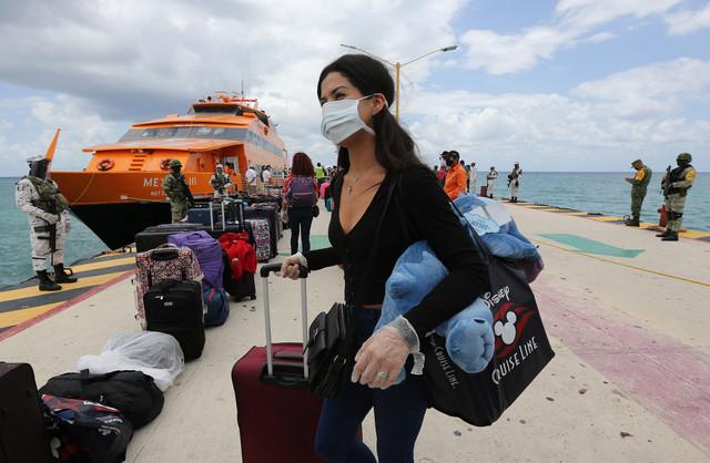 Plaja del Karmen meksiko koronavirus