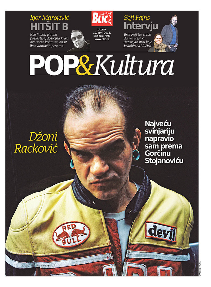Pop kultura cover Džoni Racković