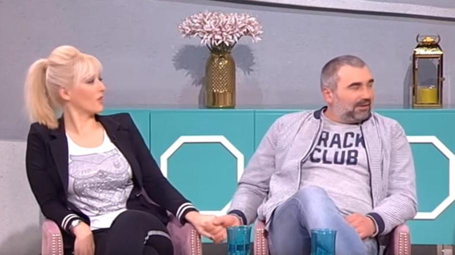 Miki Đuričić i Suzana Perović