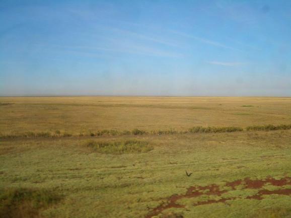 Stepe u Kazahstanu