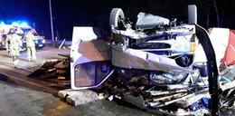 Wypadek na S8 pod Piotrkowem. Są ofiary i objazd na Wrocław