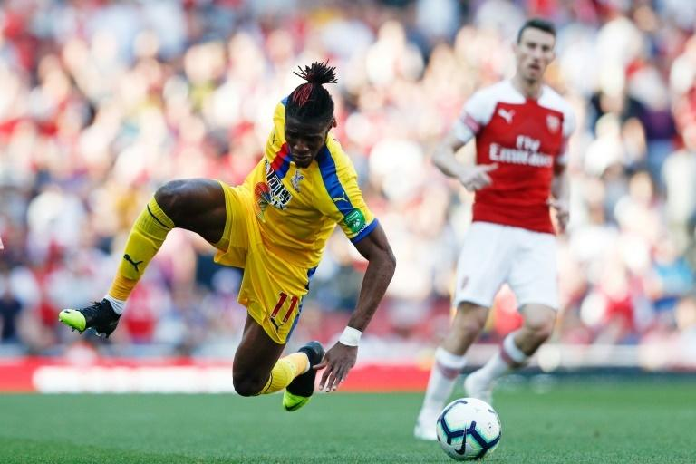 Zaha scored as Crystal Palace beat Arsenal