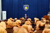 Hašim Tači, Sudije, Kosovo, Zakletva