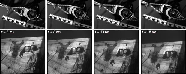 Zarejestrowane obrazy mają pomóc w opracowaniu nowych modeli symulacji testów zderzeniowych.