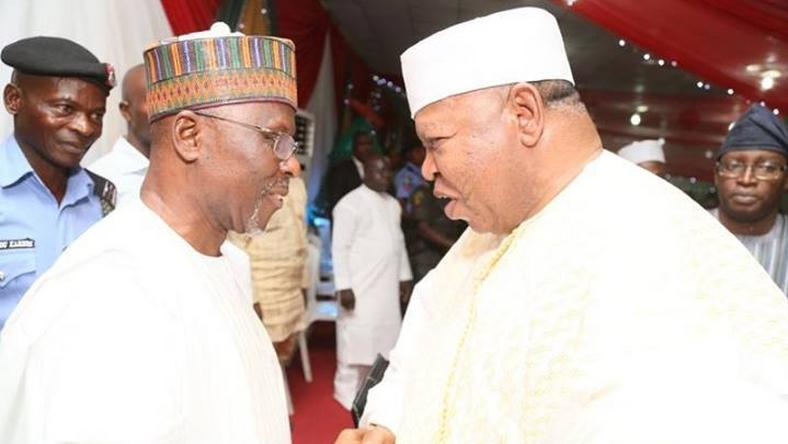 PDP candidate, Gov. Idris Wada and APC candidate, Prince Abubakar Audu