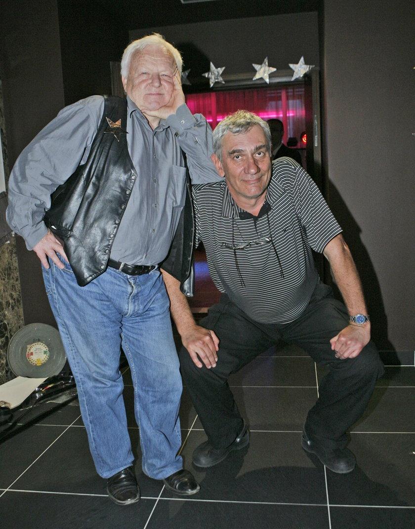 Marian Opania i Wiktor Zborowski