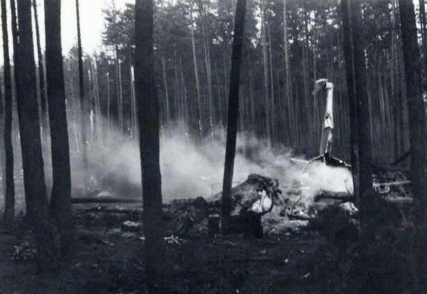 Katastrofa samolotu rządowego pod Szczecinem