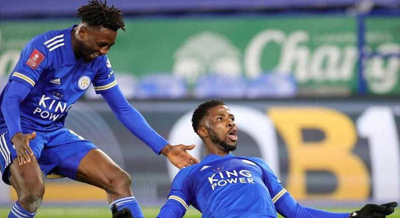 Wilfred Ndidi has backed Kelechi Iheanacho to continue his fine form (Instagram/Leicester City)