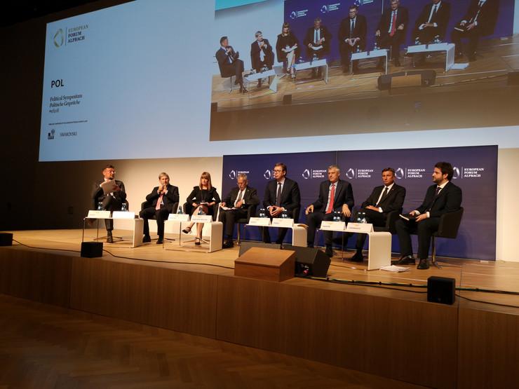Aleksandar Vučić, Austrija, promo Kabinet predsednika za saradnju sa medijima