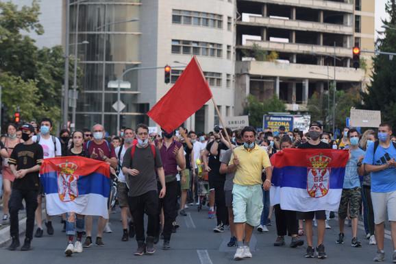 Protesna šetnja u Novom Sadu