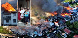Podhalańska wioska w ogniu. Wielki pożar w Nowej Białej. Są ranni