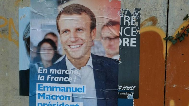 Staunchly pro-Europe Emmanuel Macron, accused Russia of trying to derail his campaign by spreading false rumors through state media