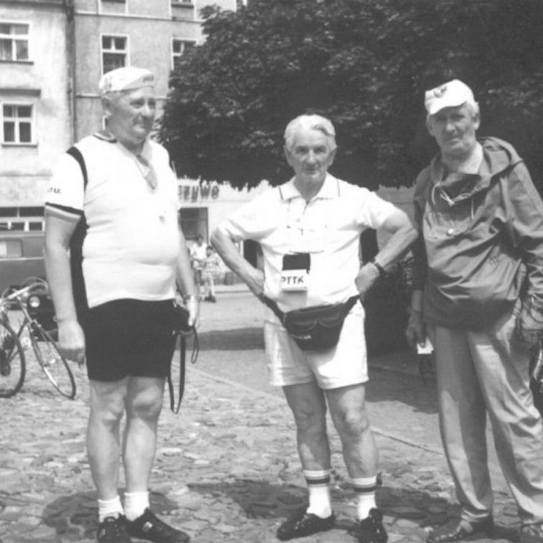 Pierwszy z prawej: Władysław Mamot
