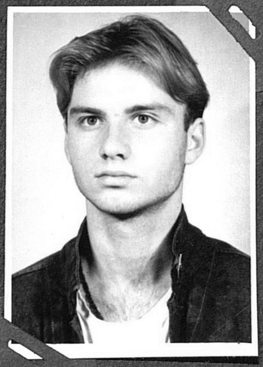 Andrzej Duda w młodości
