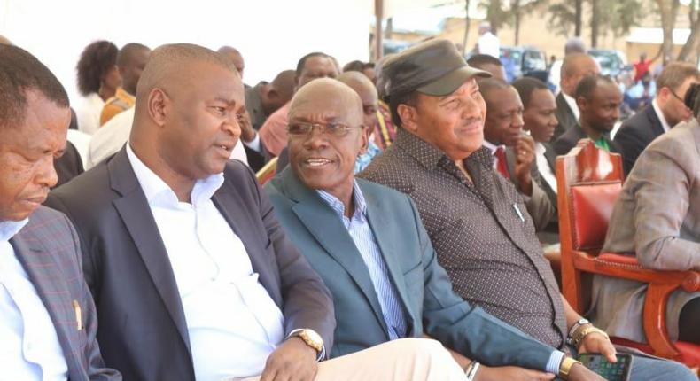 Echesa resurfaces as DP Ruto announces major partnership