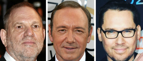 Harvi Vajnstin, Kevin Spejsi i Brajan Singer su optuženi za seksualno uznemiravanje