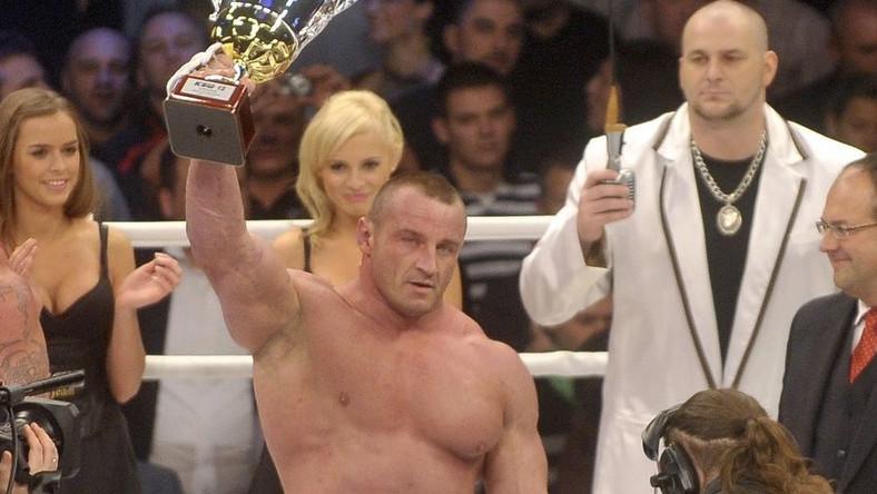 Mariusz Pudzianowski zabi w ringu fortunę