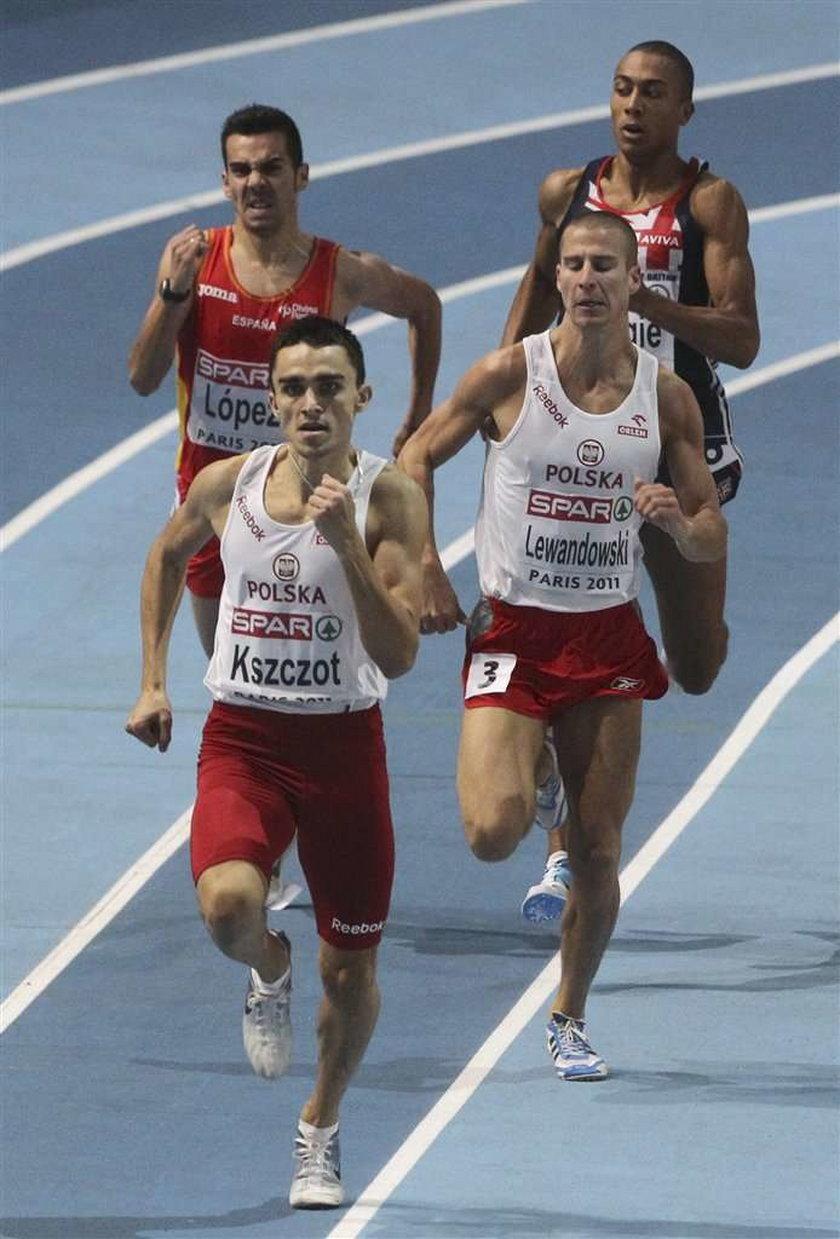 Adam Kszczot mistrzem Europy w biegu na 800 m, Marcin Lewandowski wicemistrzem