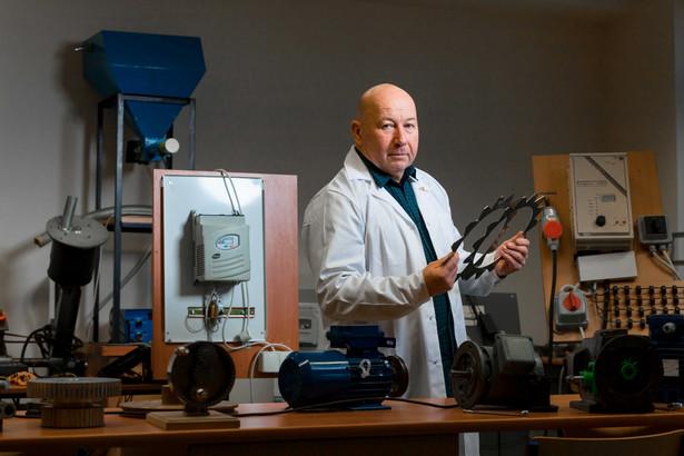 Dr inż. Krzysztof Tyszczuk z Uniwersytetu Kazimierza Wielkiego w Bydgoszczy (fot. Piotr Ulanowski)