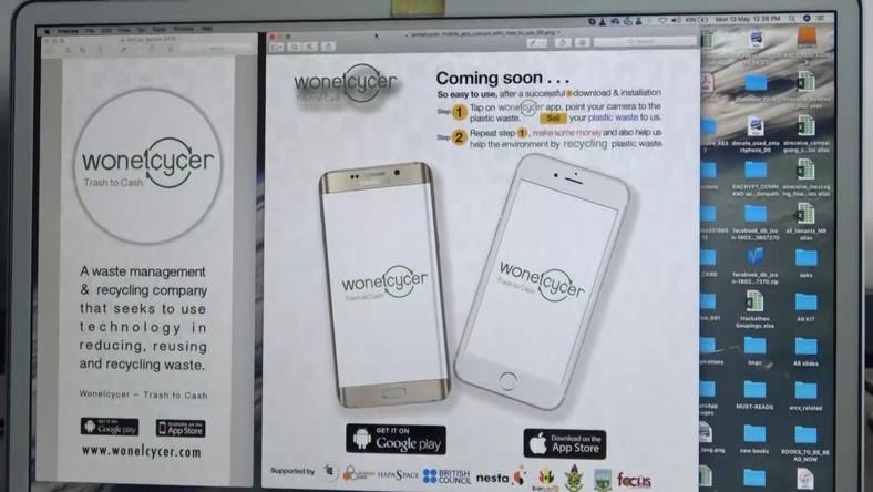 A Ghanaian tech group develops a software app for plastic