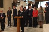 Aleksandar Vucic, Mogerini, Junkerom i Ramom Sofija foto promo