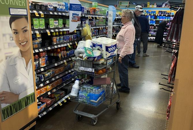 Fotografija iz prodavnice u Blumingtonu u Americi