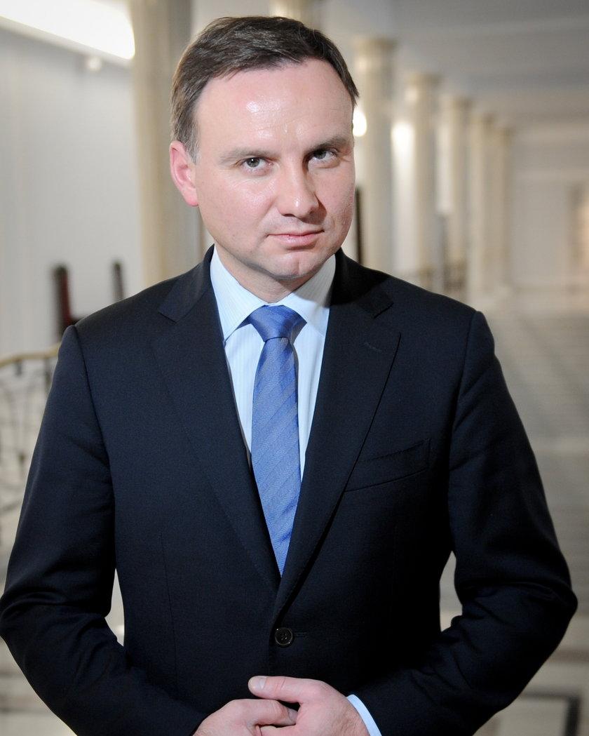 Andrzej Duda, kandydat na prezydenta PiS