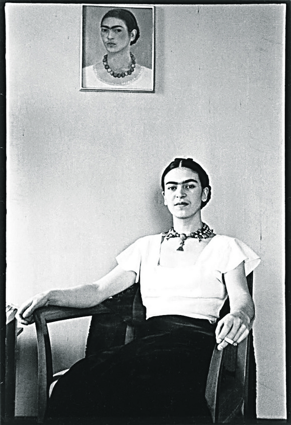 Frida u hotelu Barbizon plaza, 1933.