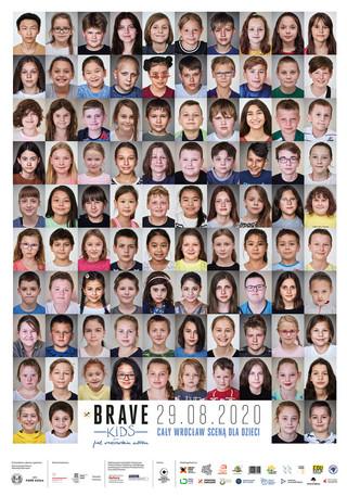 100 polskich twarzy Brave Kids: Wielki finał festiwalu już 29 sierpnia