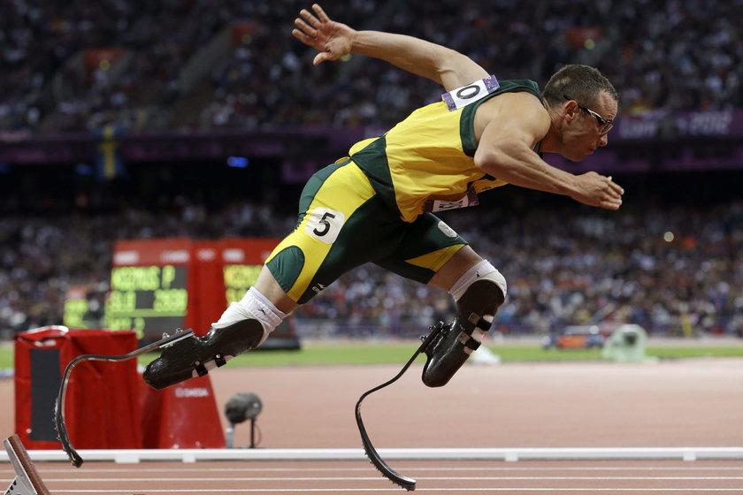 Pistorius biegnie