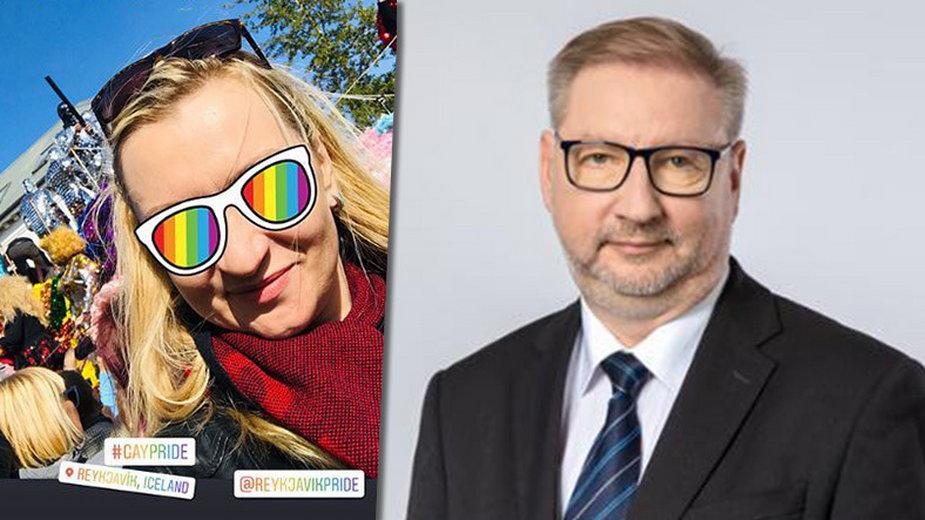 Margret Adamsdottir i Gerard Pokruszyński